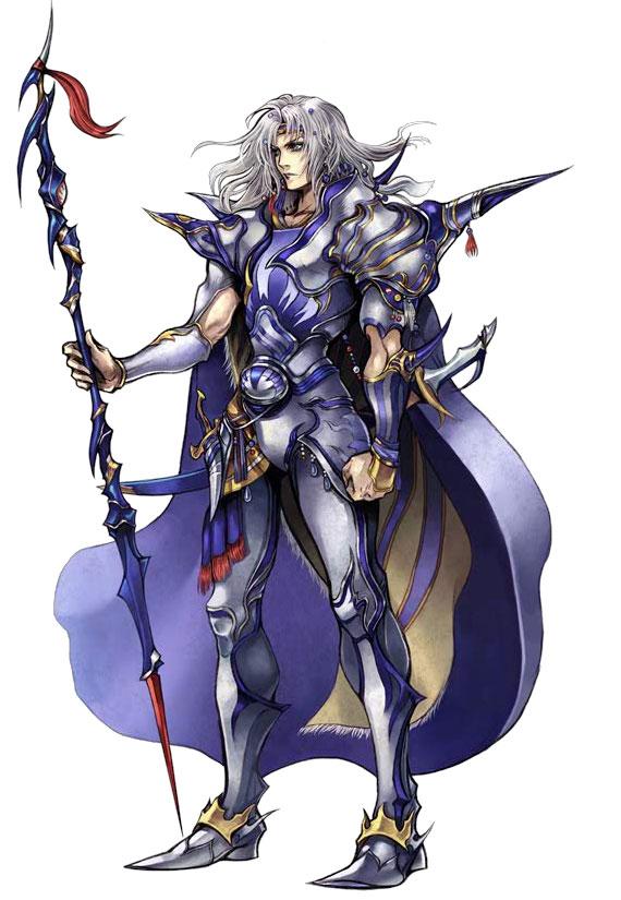 Tags: Anime, Nomura Tetsuya, SQUARE ENIX, Final Fantasy IV, Dissidia, Cecil Harvey, Mobile Wallpaper, Official Art