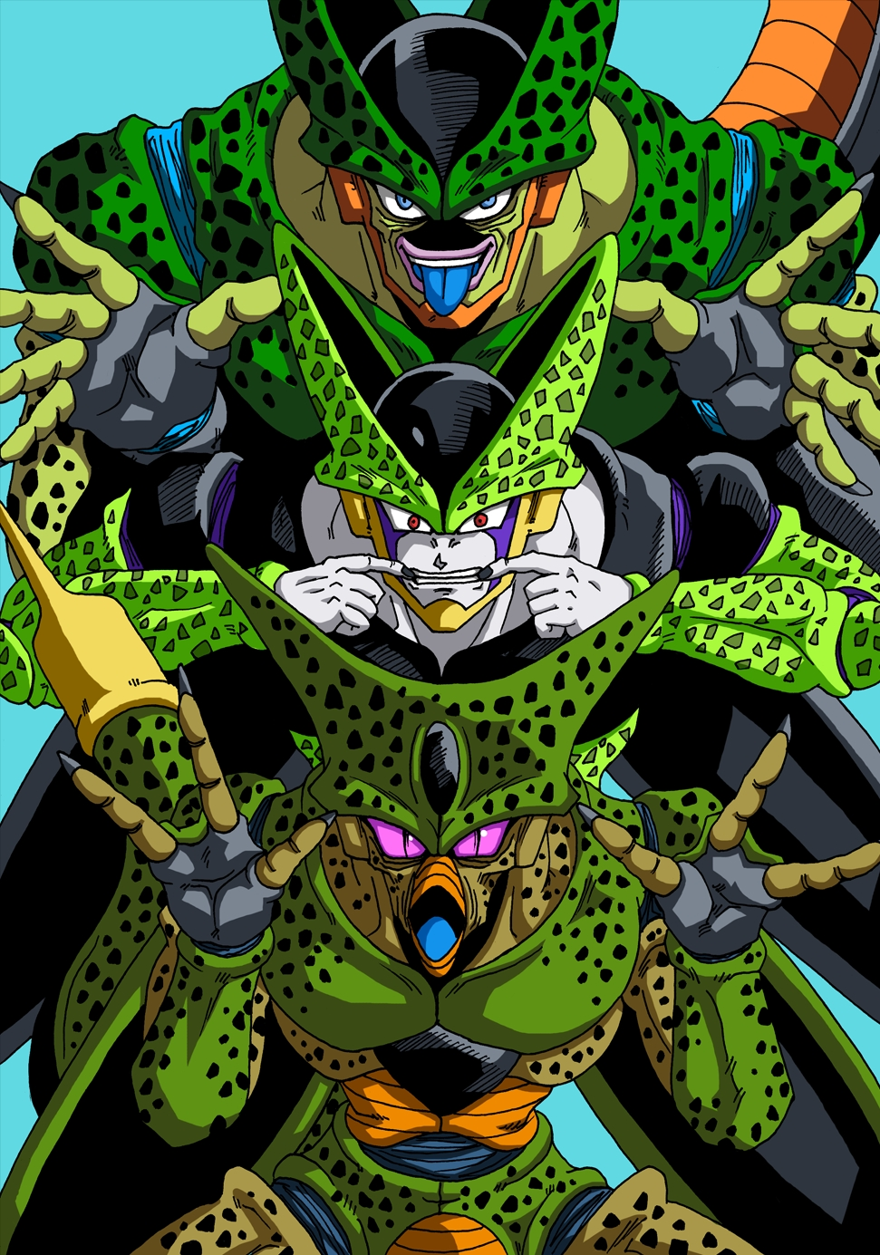 Cell dragon ball dragon ball z zerochan anime image board - Photo dragon ball z ...