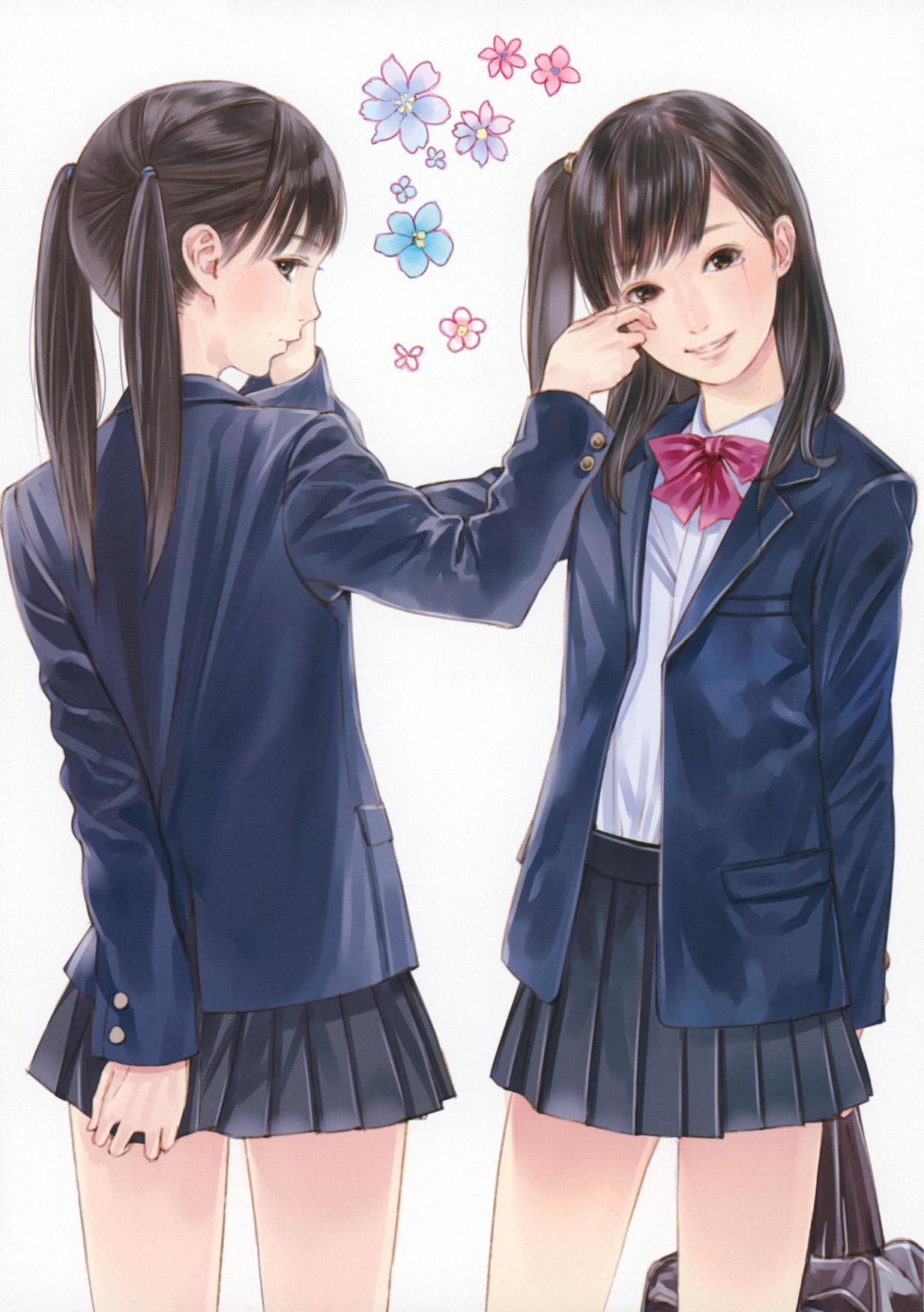 日本人の漫画、アニメ絵がヘタすぎるので描き直しました [無断転載禁止]©2ch.net [732912476]->画像>119枚