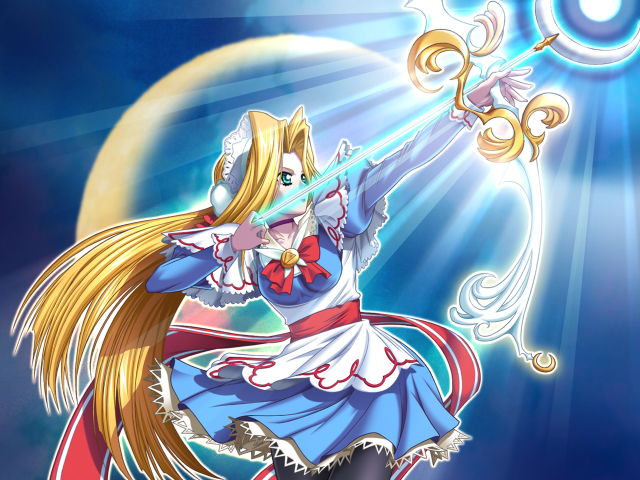 Tags: Anime, Terios, Magical Canan, Cerulean Blue (Magical Canan), Mizushiro Sayaka, CG Art