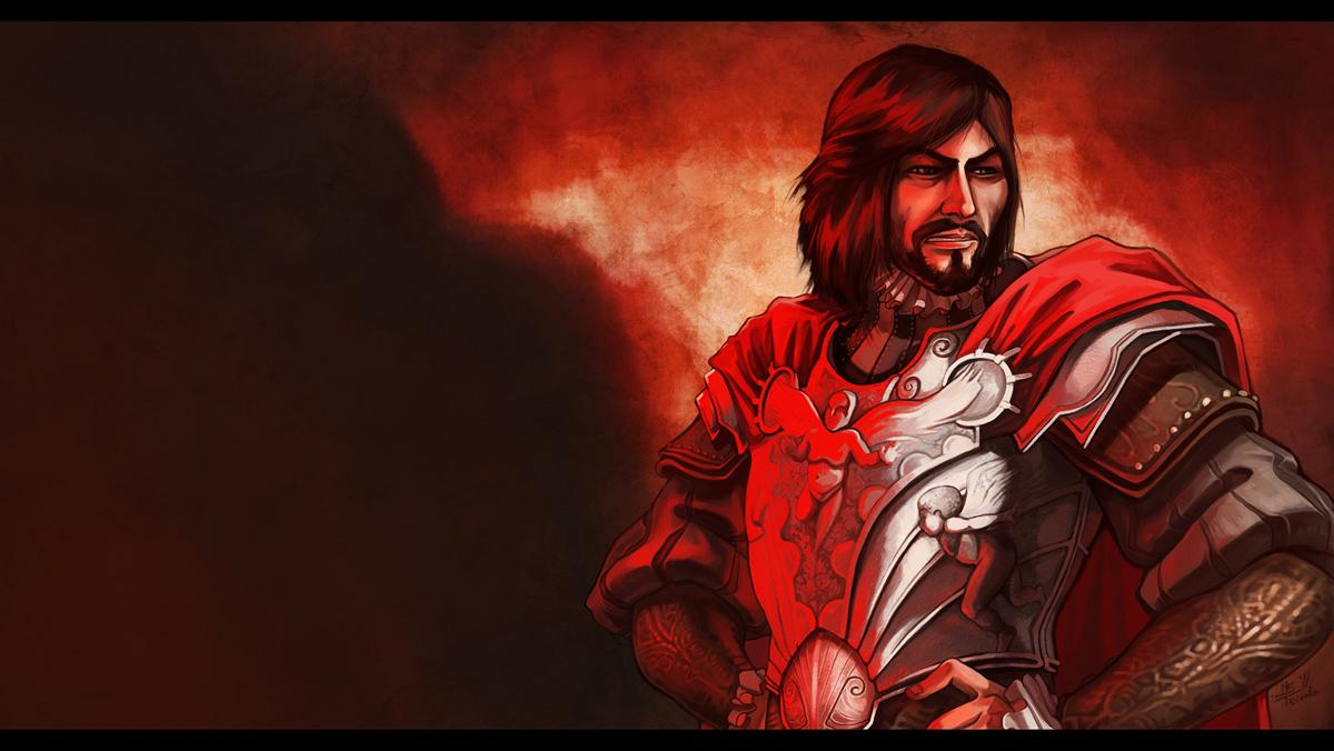 Cesare Borgia Assassin S Creed Brotherhood Wallpaper 1057151