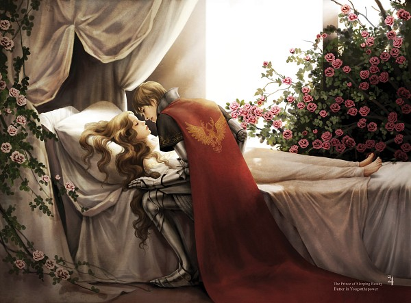 Tags: Anime, Pixiv Id 3688622, Sleeping Beauty, Sleeping Beauty (Character), Changmin, Knight, Warrior