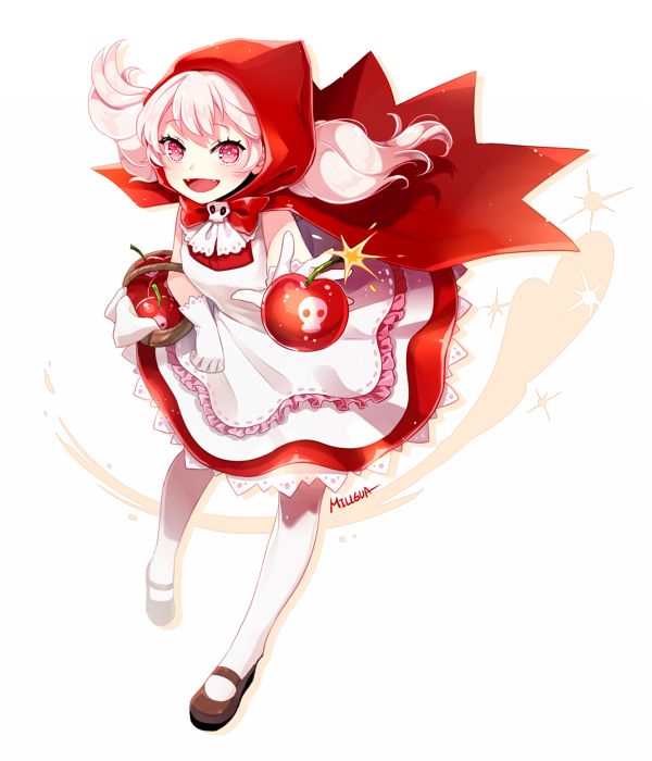Tags: Anime, Millgua, Cookie Run, Cherry Cookie, Bomb, Fanart From Pixiv, Pixiv, Fanart