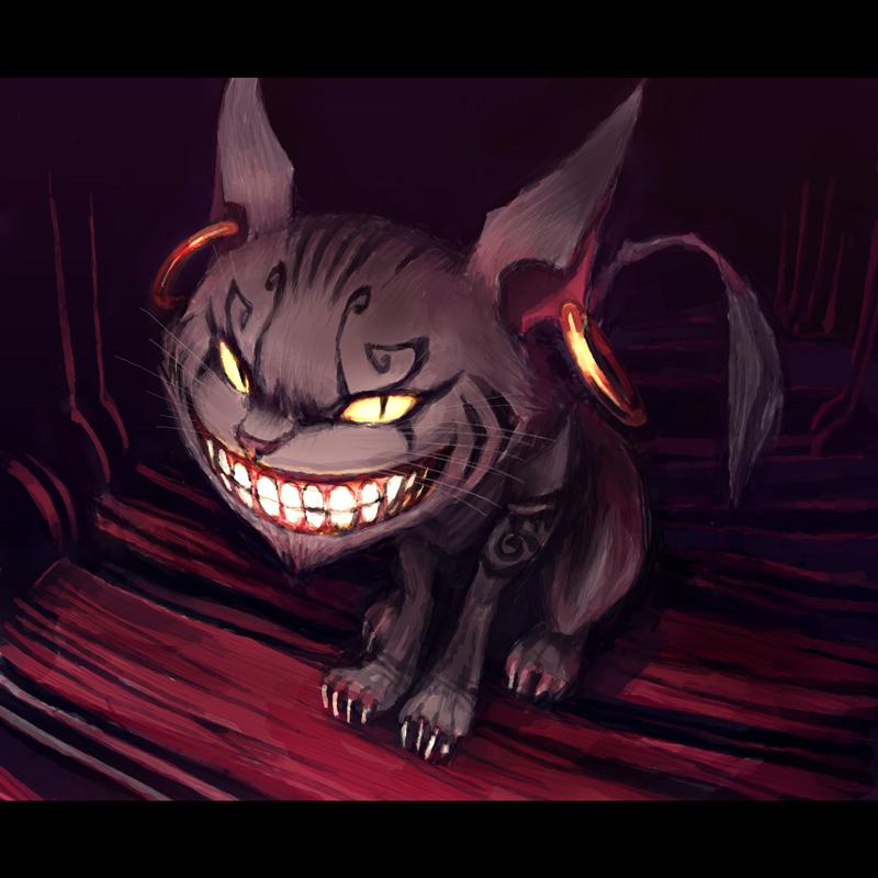 American Mcgee Cheshire Cat