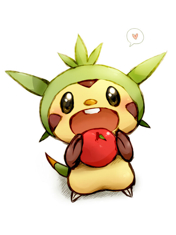 Tags: Anime, Pokémon, Adorably Cute, No People, 600x800 Wallpaper, 3:4 Ratio, Chespin