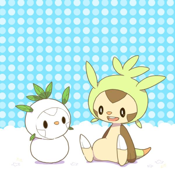 Tags: Anime, Pixiv Id 883826, Pokémon, Chespin, Fanart, Fanart From Pixiv, Pixiv