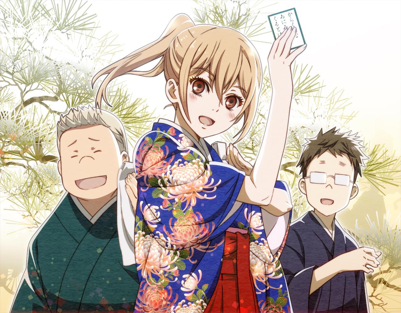 Chihayafuru anime ile ilgili görsel sonucu