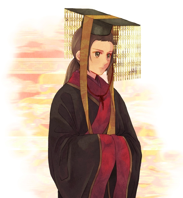Tags: Anime, Pixiv Id 4090803, Axis Powers: Hetalia, China, Emperor, Hands In Sleeves, Graduation Hat, Graduation, Fanart From Pixiv, Pixiv, Fanart, Allied Forces, Asian Countries