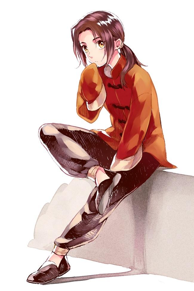Tags: Anime, Shizu, Axis Powers: Hetalia, China, Pixiv, Mobile Wallpaper, Fanart From Pixiv, Fanart
