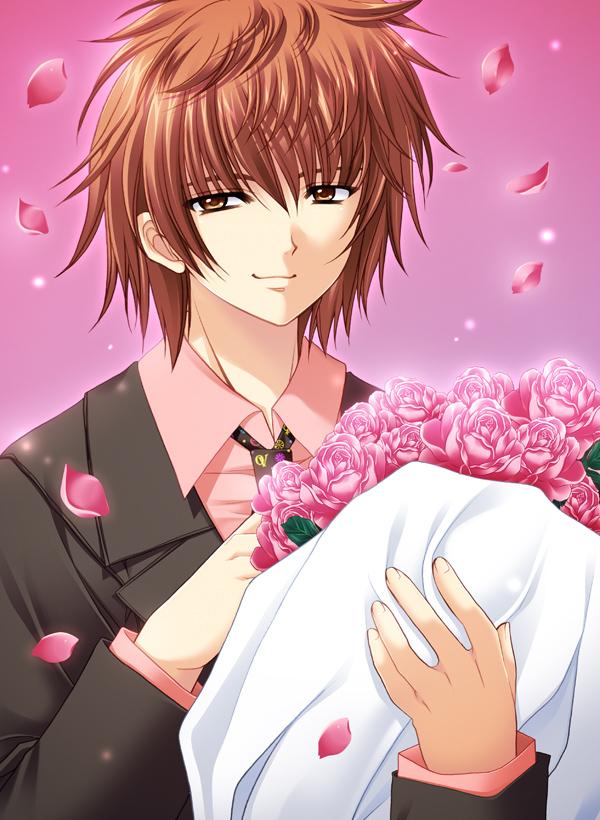 Tags: Anime, Nishimata Aoi, Oretachi ni Tsubasa wa Nai, Chitose Shusuke, Official Art