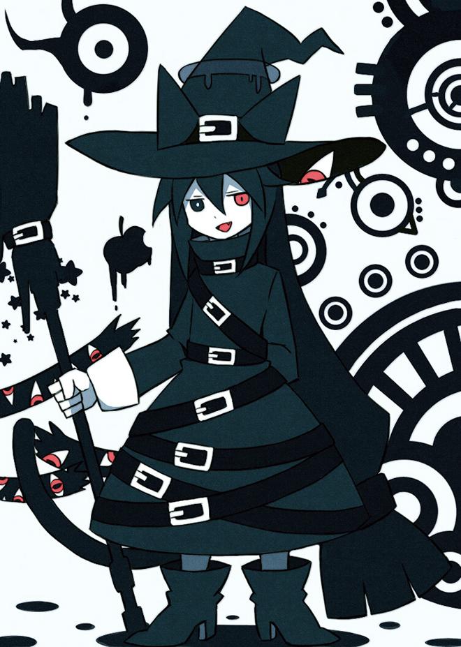 Tags: Anime, Pixiv Id 4034890, Oounabara to Wadanohara, Chlomaki, Pixiv, Fanart, Fanart From Pixiv, Mobile Wallpaper