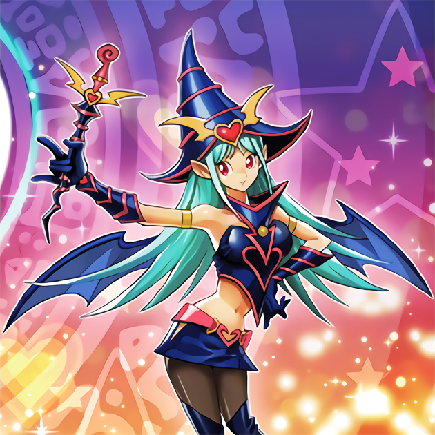 Magician girl picture 2