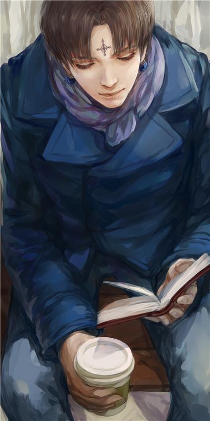 Tags: Anime, Ashu (Pixiv3830062), Hunter x Hunter, Chrollo Lucifer, Fanart From Pixiv, Pixiv, Fanart