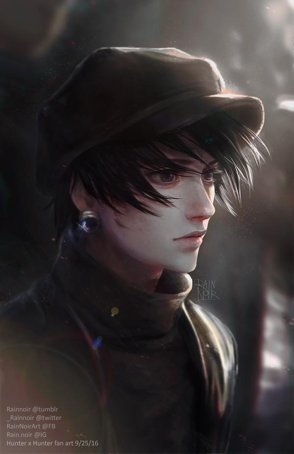 Tags: Anime, RainNoir, Hunter x Hunter, Chrollo Lucifer, Mobile Wallpaper, Fanart, Fanart From Pixiv, Pixiv