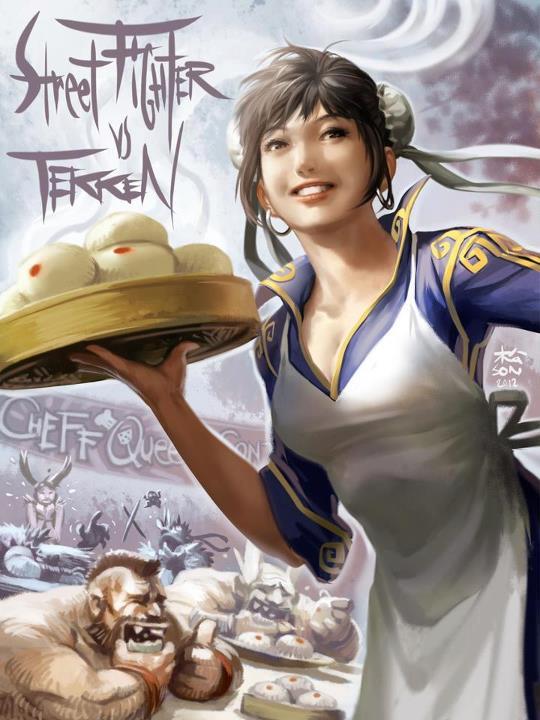 Tags: Anime, Street Fighter, Chun-Li, Zangief