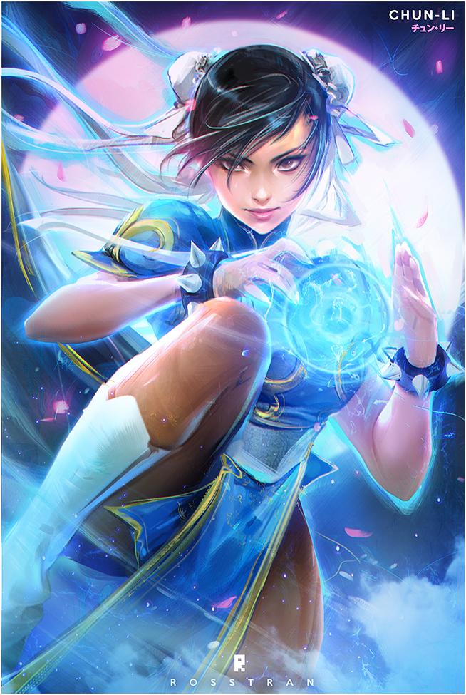 Tags: Anime, rossdraws, Street Fighter, Chun-Li, Fanart, Fanart From DeviantART, deviantART