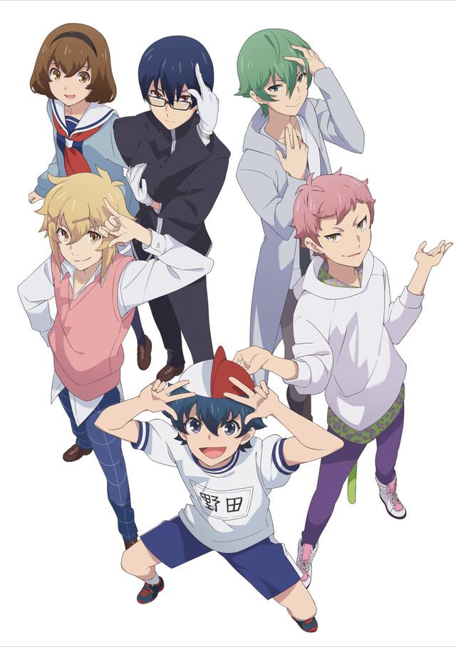 Tags: Anime, Matsuura Arisa, Studio DEEN, Chuubyou Gekihatsu Boy, Nakamura Kazuhiro, Takashima Tomoki, Noda Yamato, Mikuriya Futaba, Hijiri Mizuki, Tsukumo Rei, Key Visual, Official Art