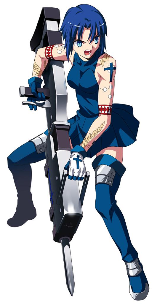 Tags: Anime, Takeuchi Takashi, TYPE-MOON, Tsukihime, Ciel (Tsukihime), Official Art