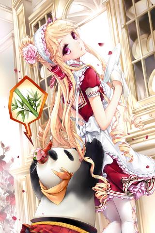 Tags: Anime, Cocoon (Artist), Sword Girls, Panica, Cinia Pacifica, Mobile Wallpaper, Fanart