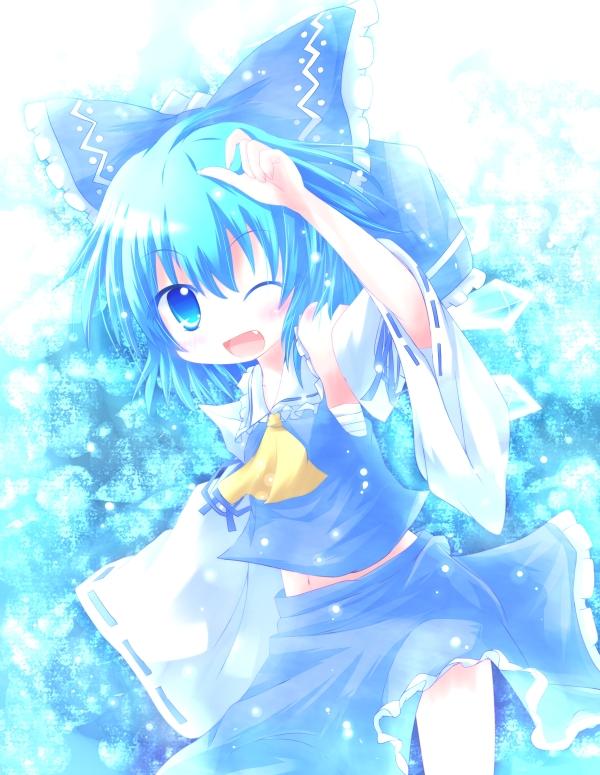 Tags: Anime, Yuya (Pixiv), Touhou, Cirno