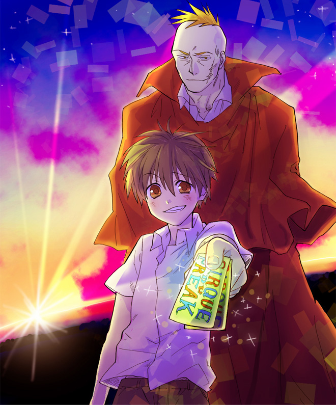 Tags: Anime, Pixiv Id 305432, Cirque du Freak (Book), Darren Shan (Character), Larten Crepsley