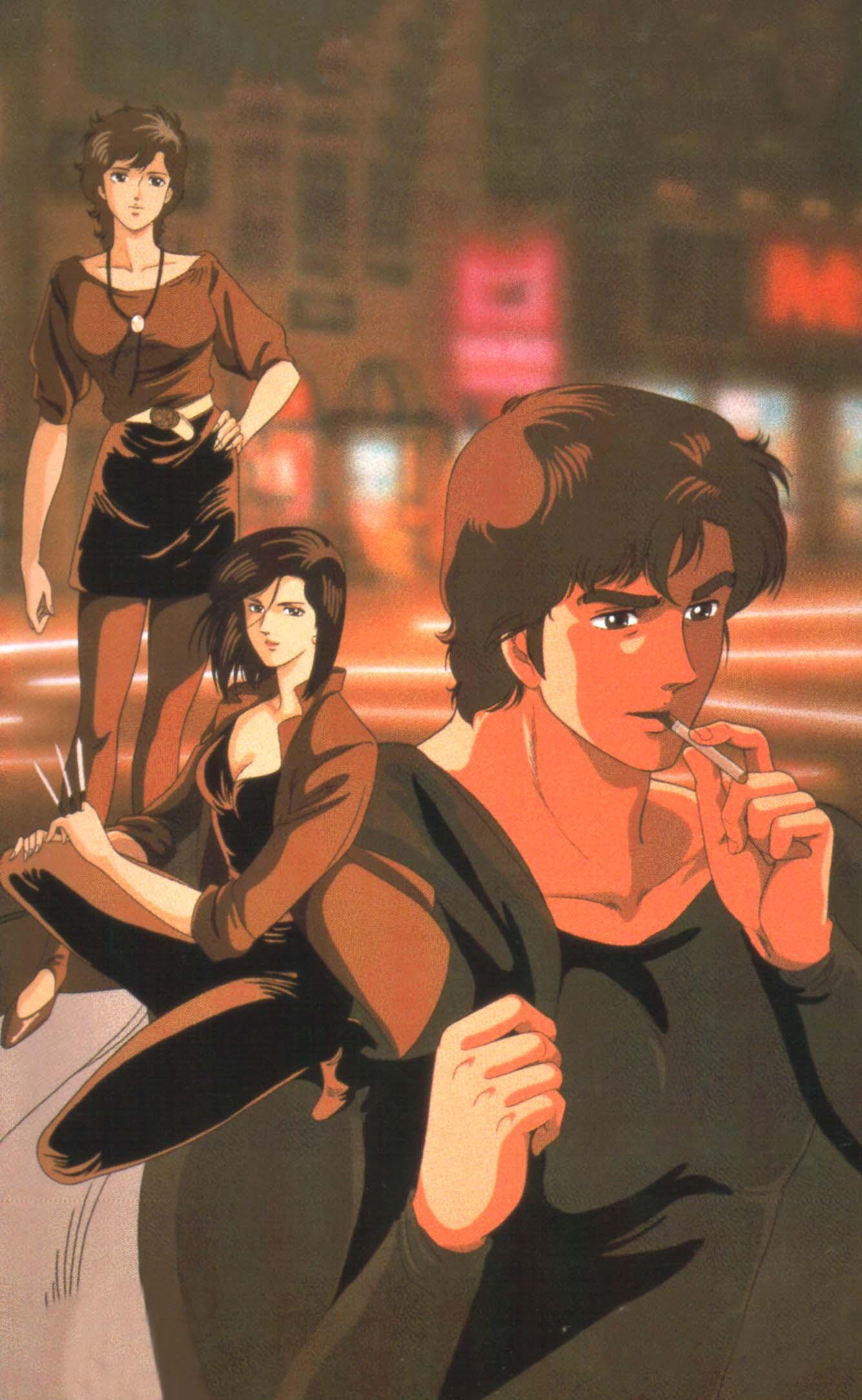 City Hunter Hojo Tsukasa Zerochan Anime Image Board