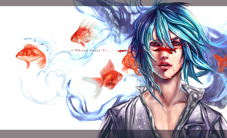 Золотая рыбка картинки аниме 2