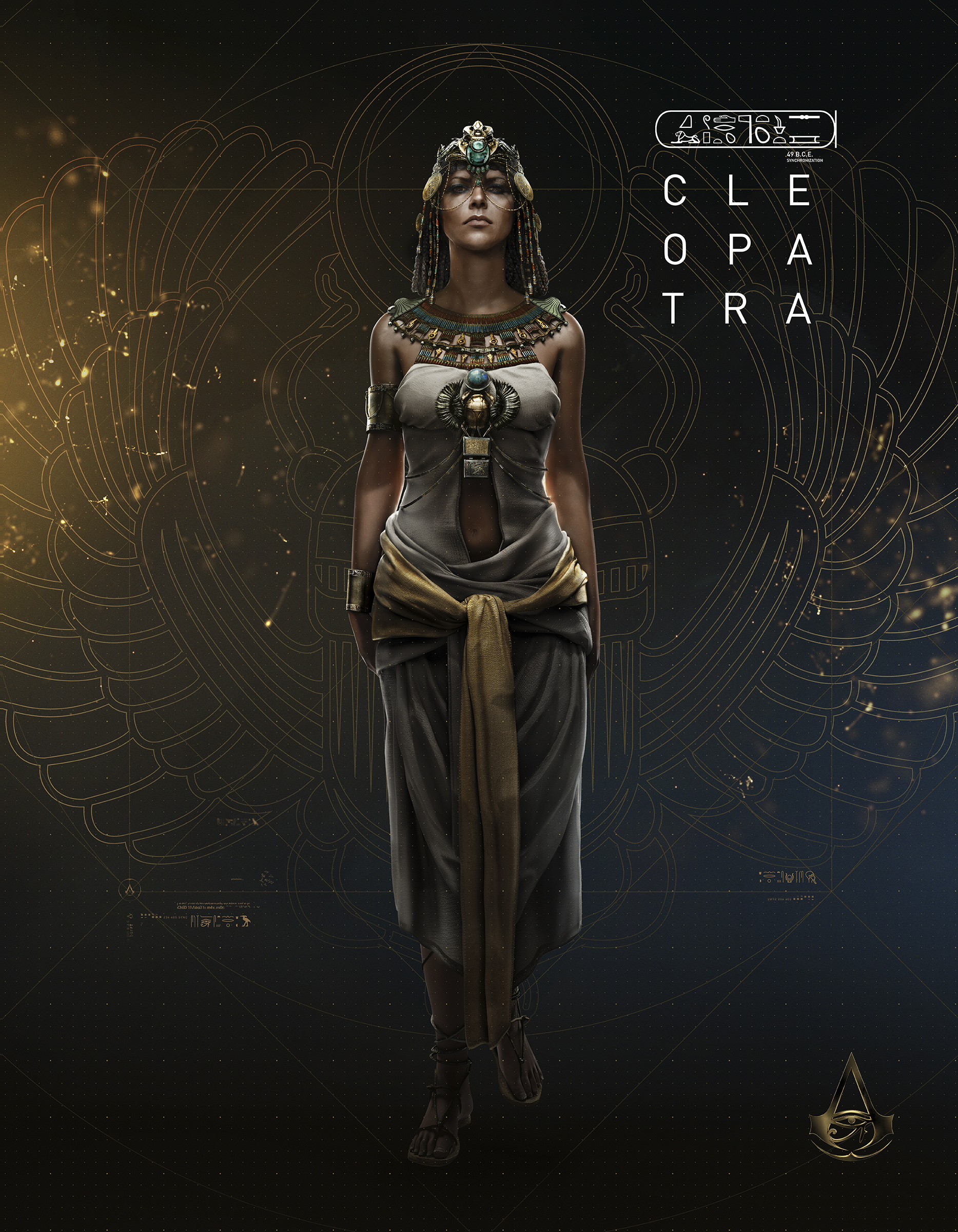 assassins creed origins aya art