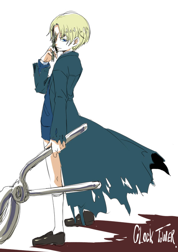 Tags: Anime, Murai Shinobu, Clock Tower (Game), Edward (Clock Tower), Pixiv