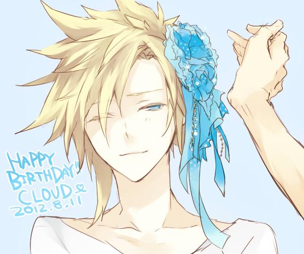 Tags: Anime, Bisuko, Final Fantasy VII, Cloud Strife, Fanart, Fanart From Pixiv, Pixiv