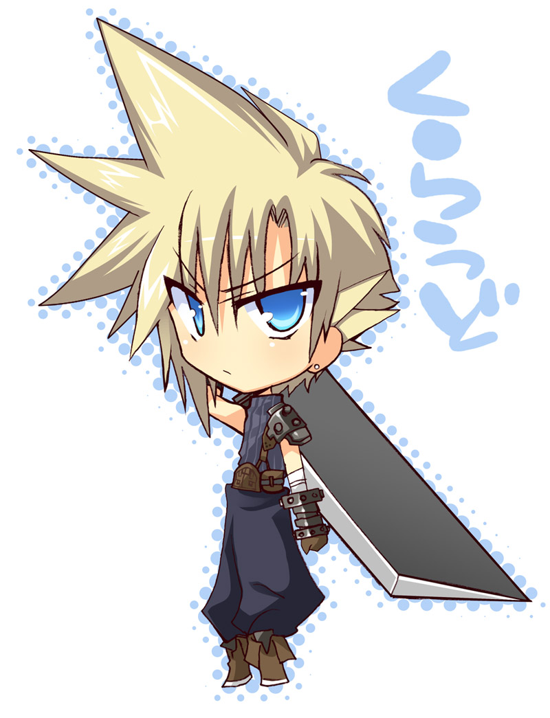 Final Fantasy 7 Anime Characters : Cloud strife final fantasy vii image