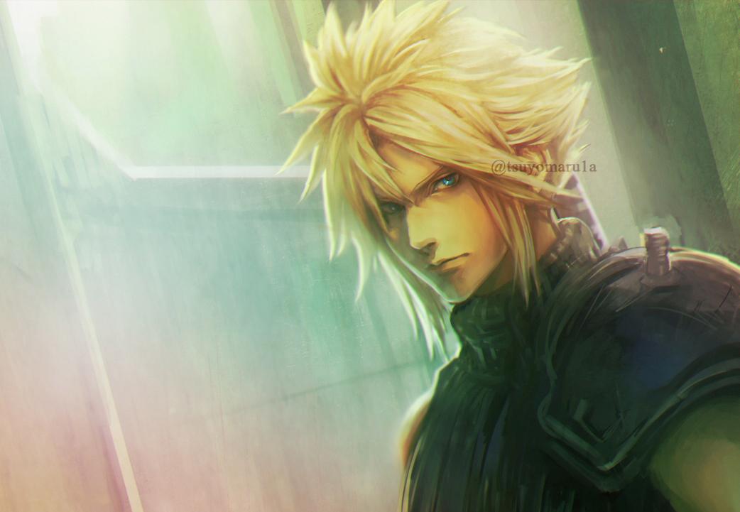 Cloud Strife Final Fantasy Vii Image 2255347 Zerochan