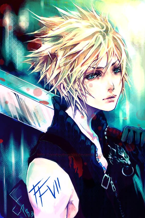 Cloud Strife Final Fantasy Vii Mobile Wallpaper 275243