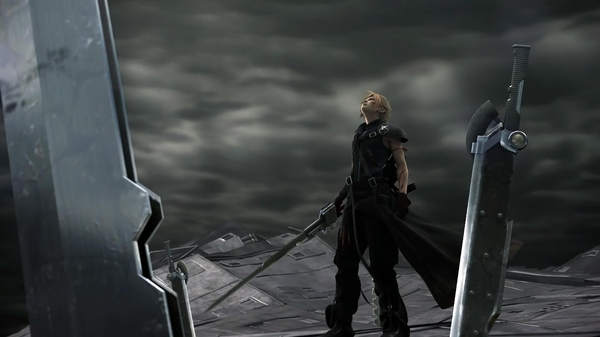 Tags Anime Nomura Tetsuya Final Fantasy VII Cloud Strife Buster Sword