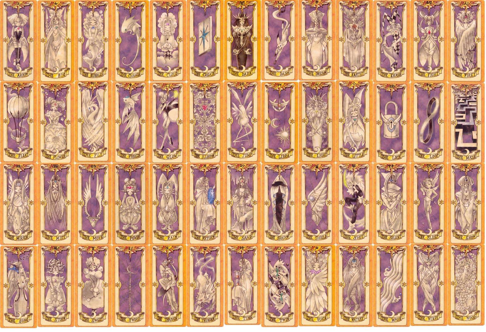 Cardcaptor sakura cards