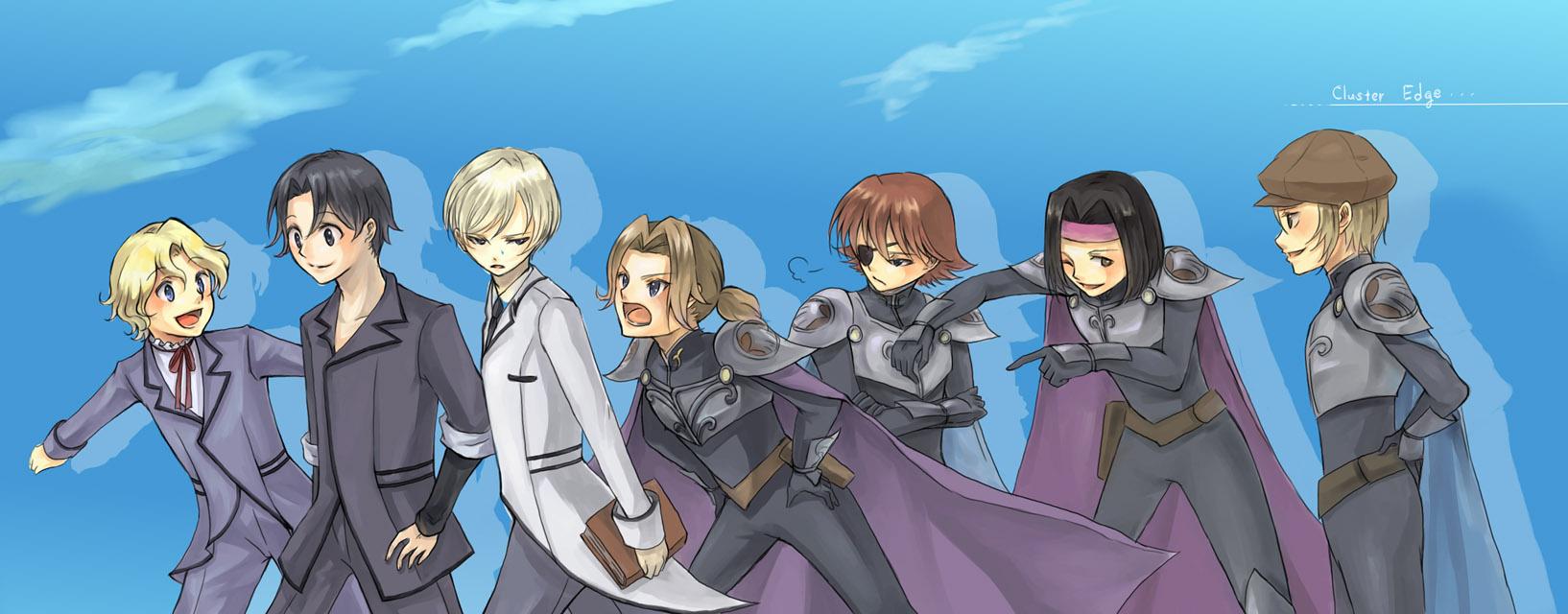 Cluster Edge - Zerochan Anime ...