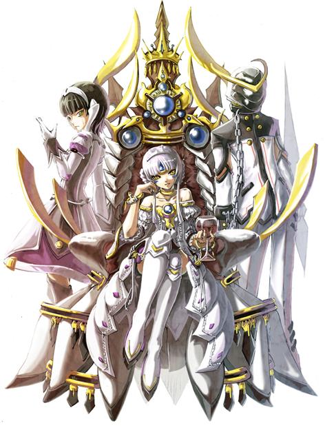 Tags: Anime, Servati (Szka), Elsword, Ophelia (Elsword), Eve (Elsword), Code: Empress, Oberon (Elsword), Pixiv, Requested Upload, Fanart, Fanart From Pixiv