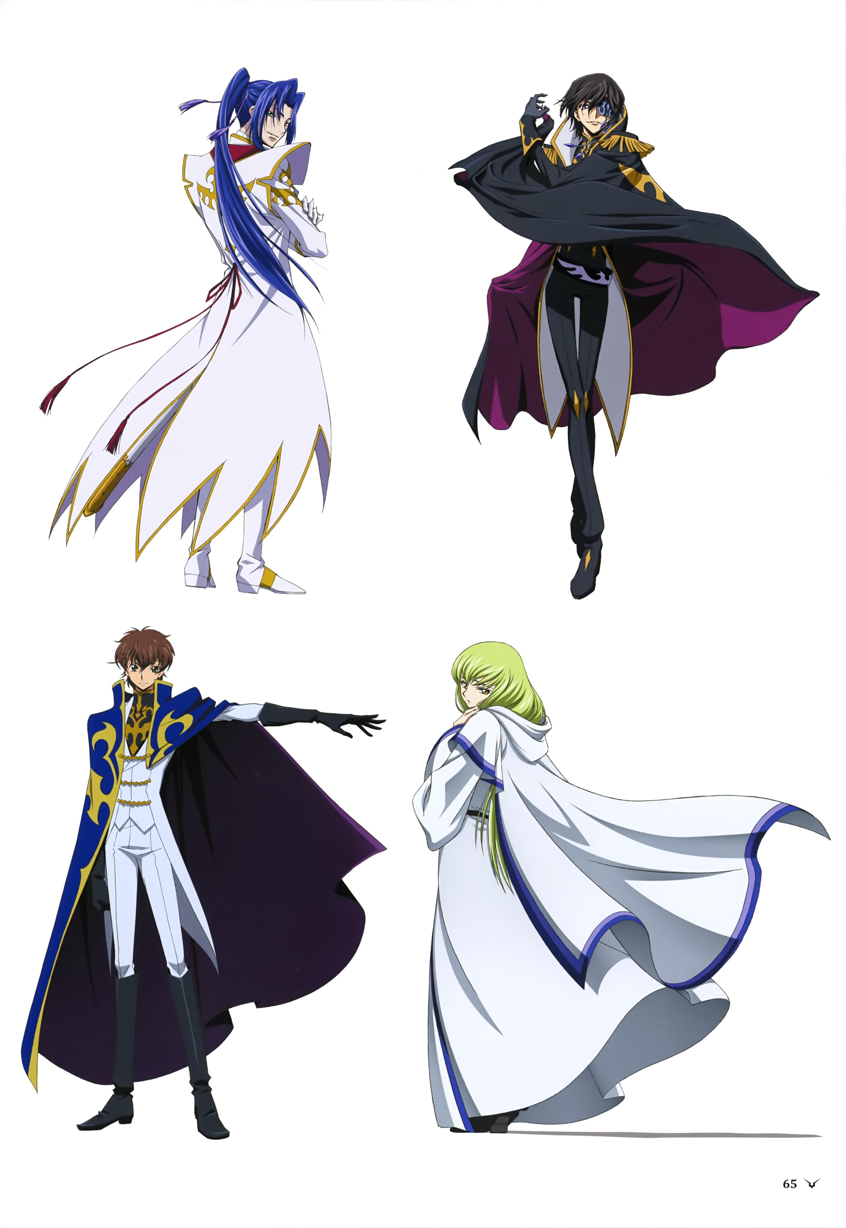 Julius Kingsley - Code Geass: Boukoku no Akito - Zerochan Anime