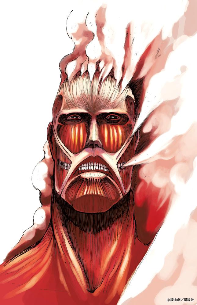 Colossal Titan Attack On Titan Zerochan Anime Image Board