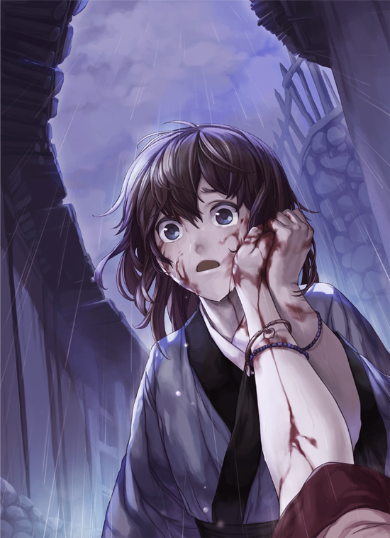 Tags: Anime, Comet (Artist), Dying, Pixiv, Original, Mobile Wallpaper