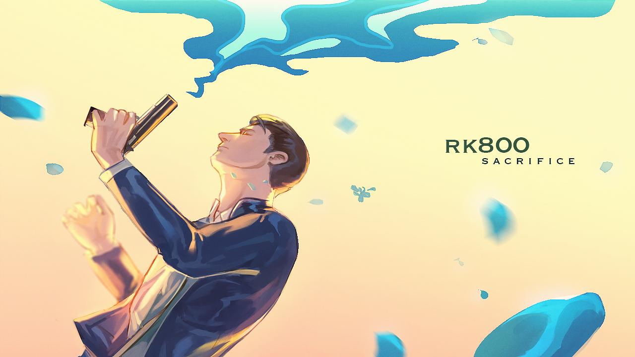 Connor Detroit Become Human Wallpaper 2334114 Zerochan Anime