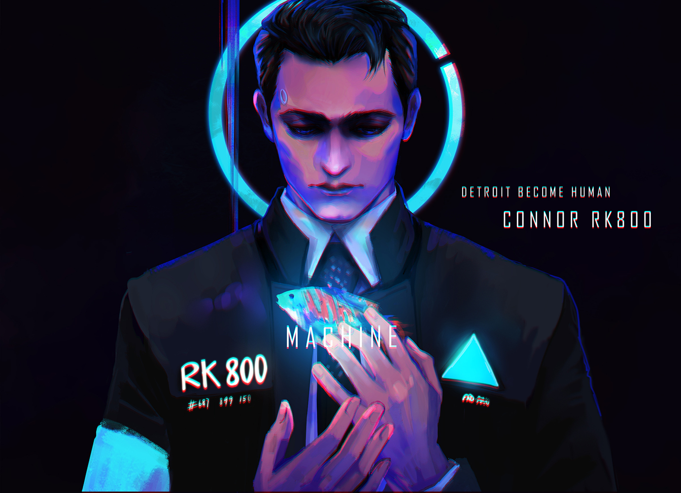 Connor Detroit Become Human Zerochan Anime Image Board