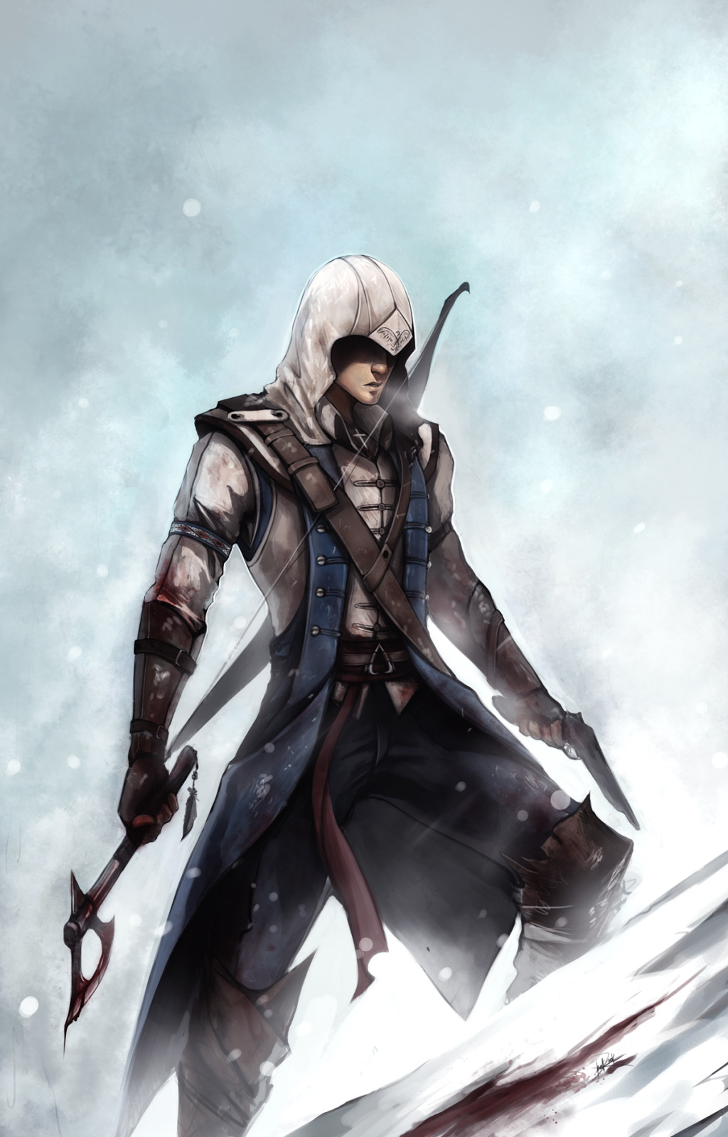 Connor Kenway Ratohnhake Ton Assassin S Creed Iii Zerochan