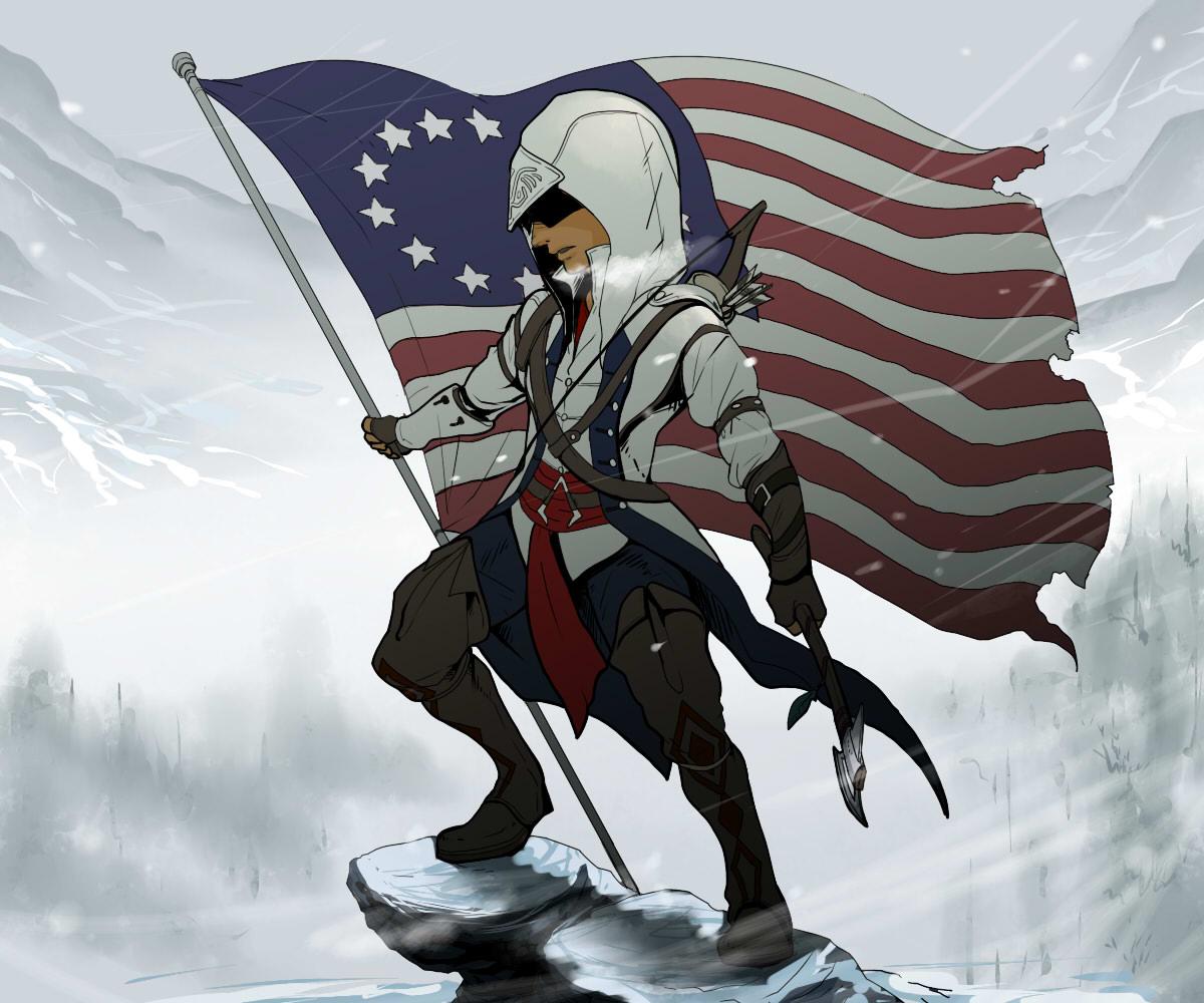 Connor Kenway Ratohnhake Ton Assassin S Creed Iii Image