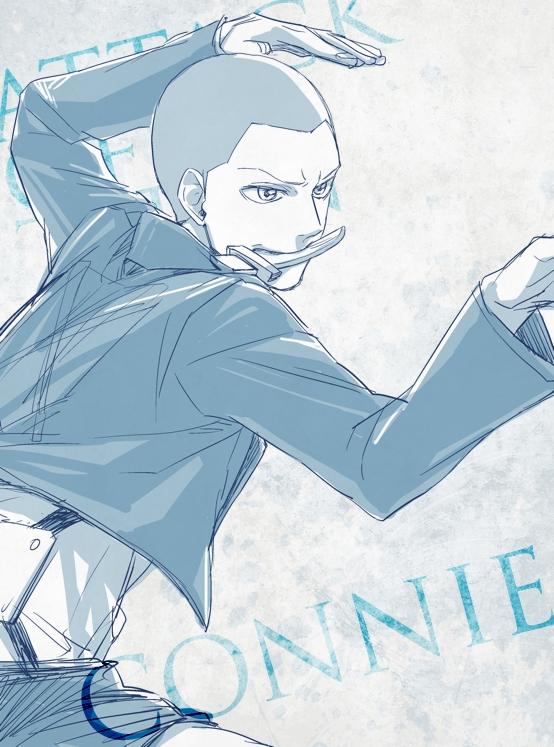 Tags: Anime, Umashima, Attack on Titan, Conny Springer, Pixiv, Fanart, Fanart From Pixiv