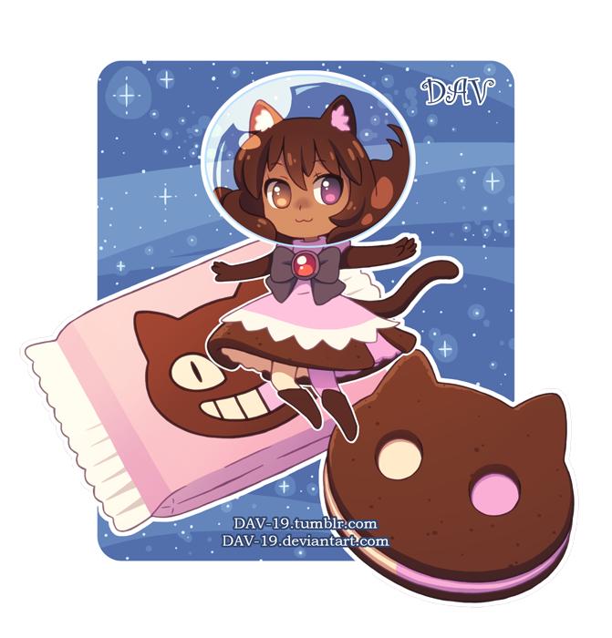 Tags: Anime, DAV-19, Steven Universe, Cookie Cat, Fanart From DeviantART, PNG Conversion, deviantART, Fanart