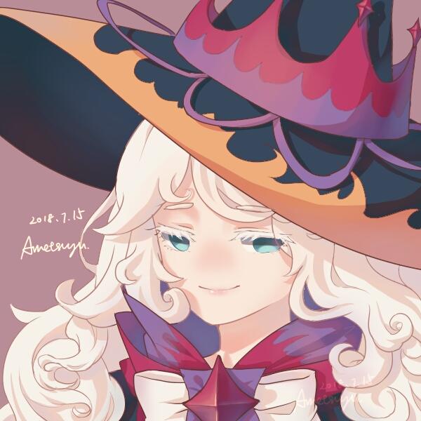Tags: Anime, Pixiv Id 7067593, Cookie Run: OvenBreak, Cookie Run, Cream Puff Cookie (Dark Magic Hat), Cream Puff Cookie, Fanart From Pixiv, Pixiv, Fanart