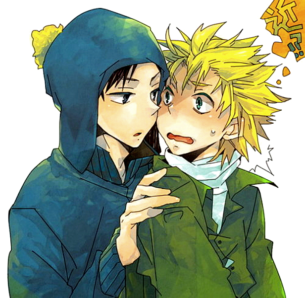 Tags: Anime, South Park, Craig Tucker, Tweek Tweak, Artist Request, Creek (South Park)