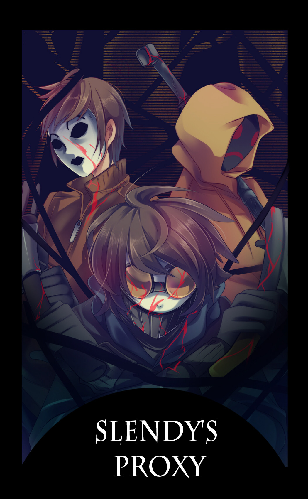 Creepypasta Mobile Wallpaper #1700678 - Zerochan Anime ...