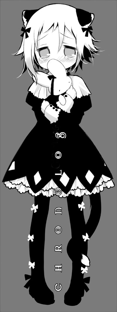 Tags: Anime, Sakurazawa Izumi, SOUL EATER, Crona, Stuffed Rabbit, Lolita Fashion, Cuffs Design